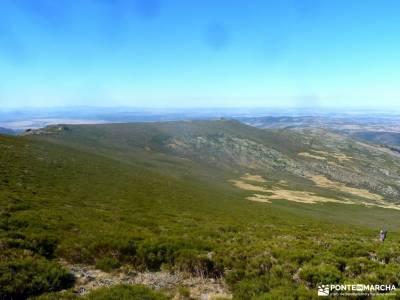 La Serrota - Valle de Amblés; cenicientos cami de cavalls el berrueco campos de castilla